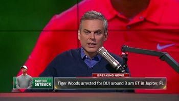 Tiger Woods arrested in Florida - Colin Cowherd reacts | THE HERD